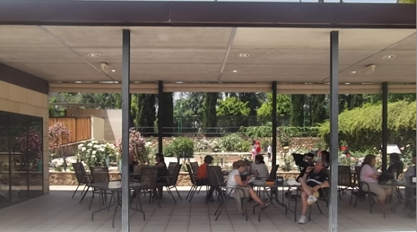 People in a Café